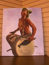 The Drummer by Sylvestre Telfort