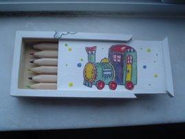Caixa de lápis para crianças