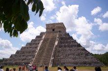 La piramide de Kukulcan (Chichen itza)