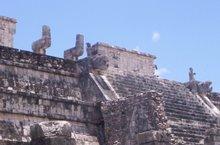 Templo de los guerreros. parte superior
