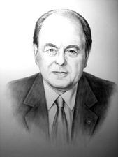 Jordi Pujol. Carbó sobre paper