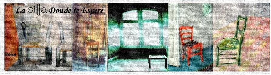 La silla donde te esperé
