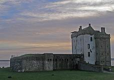 Broughty Castle in Scotland