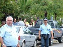 Grécka polícia
