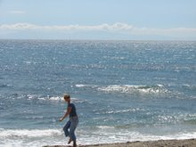 Nea Skione beach