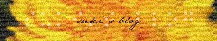 Suki's Blog