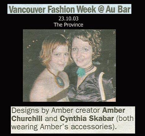 Vancouver Fashion Week 2003