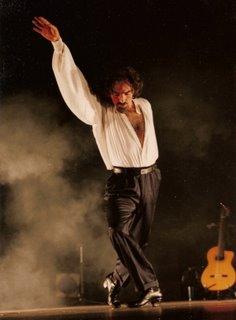 Juan Saavedra, 'el bailarín de los montes'