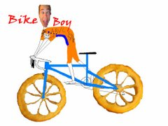 Welcome to Bike Boy 's Blog!