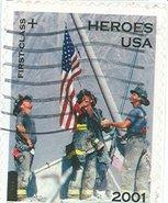 2001 Heroes Stamp