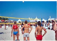 2004 Ocean Drive Magazine Volleypalooza tourney on South Beach