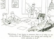 Hollywood in Cartoons, The New Yorker