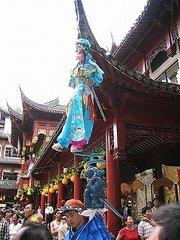 上海老城にて