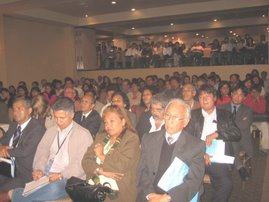 "PLENA ASISTENCIA AL SEMINARIO INTERNACIONAL ""AGUA SEGURA"""