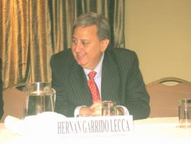 "DR. HERNAN GARRIDO LECCA INAUGURA EL SEMINARIO INTERNACIONAL ""AGUA SEGURA"""