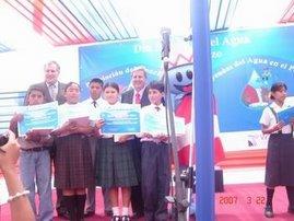 Premiación a los Escolares Ganadores