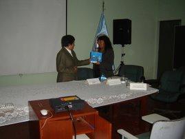 Decana de la Facultad de Ingenieria Ambiental de la Universidad del Callao