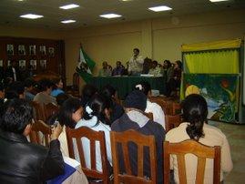 """PRESENTACION DEL LIBRO """"MITOS Y LEYENDAS DEL AGUA"""" EN OXAPAMPA"""