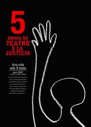 Ciclo teatro x la Justicia