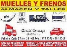 Muelles y Frenos - Almacen y Taller