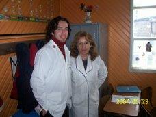 La tía Rossana y el tío Felipe