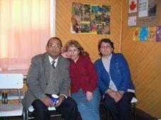 El tío Lucho, la tía Rossana y la tía Elizabeth