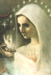 Blessed Mother pray for the unborn.