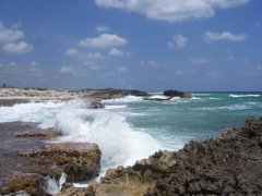Eastern Coastline on Cozumel