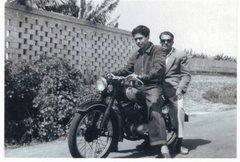 Pipo Manzano con DKW