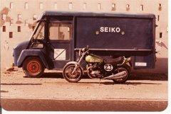 Asistencia y moto de Ajonay