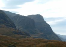 Mountains at Laggan