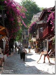 A street in Kas