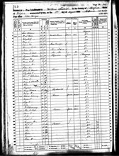 "1860""s Census - William Bell"