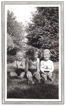 Baby Bobby, Frank and Margaret-about 1934