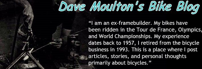 Dave Moulton&#39;s Bike Blog