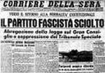 """""""E' vietata la riorganizzazione, sotto qualsiasi forma, del disciolto partito fascista"""""""