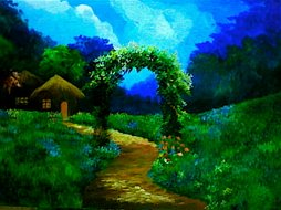 """My Cottage""by muffet dolar villegas"