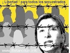 Libérez Ingrid BETANCOURT enlevée le 23 février 2002 = 5 ans
