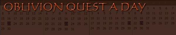 Oblivion Quest A Day