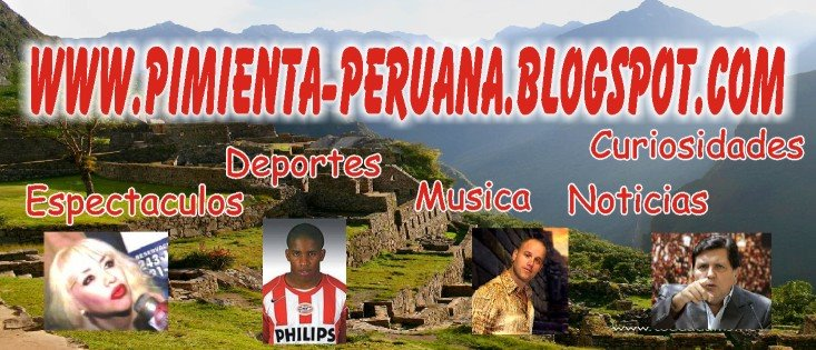 Un Blog Echo a Imagen y Semejanza de un Peruano