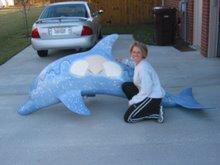 Seashell Dolphin
