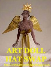 Art Doll Party Hat Swap