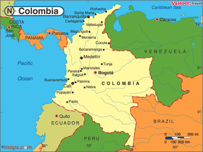 ¡Nuestra Colombia!