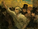"Honore Daumier's, ""The Uprising"""