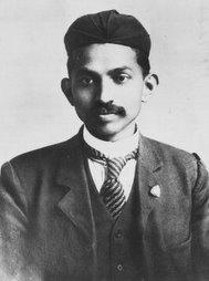 Young Gandhii
