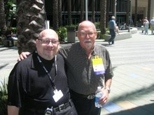 [Unknown friend &] Harry Harrison; Worldcon, 2006