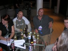 Ken Brown and Chris Wren, Worldcon 2006