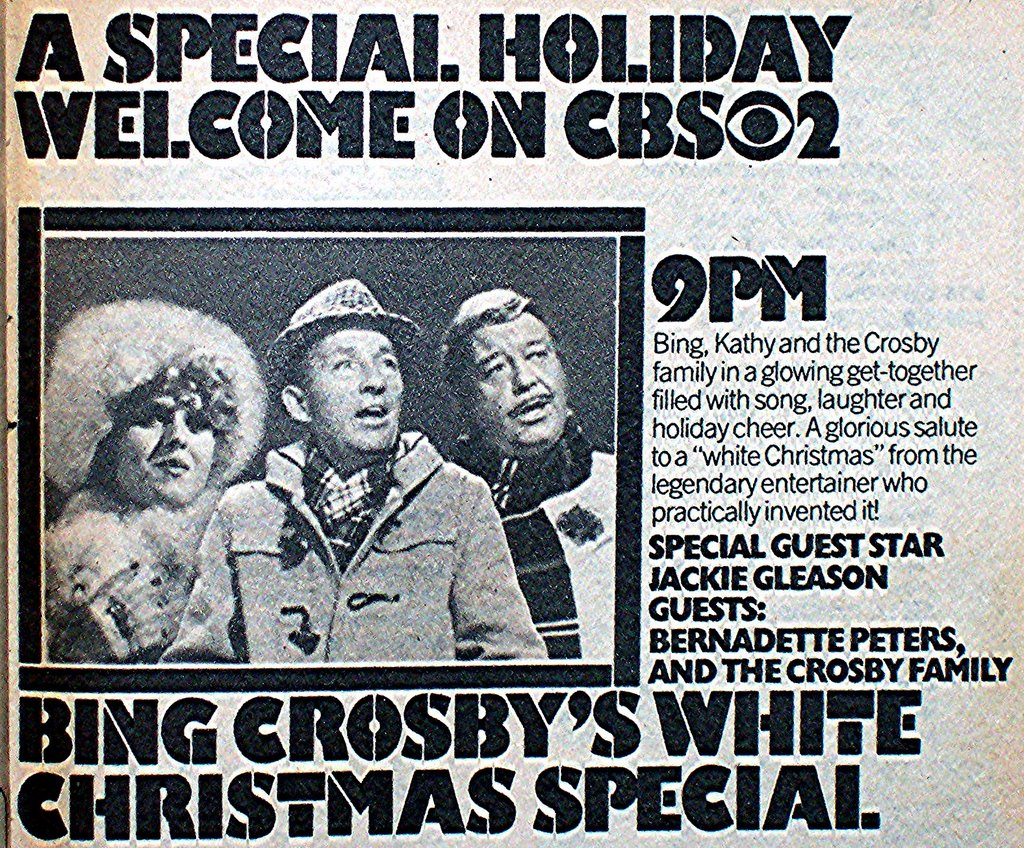 frostys winter wonderland made its debut on december 2nd 1976 with the amiable snow doofus taking on appropriately enough shelley winters as his bride - Bing Crosby Christmas Special