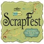 scrapfest 2007 yeah!