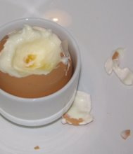 Mousse in an egg